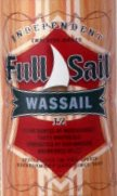Full Sail Wassail label