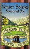 Anderson Valley Brewing Company's Winter Solstice Seasonal Ale