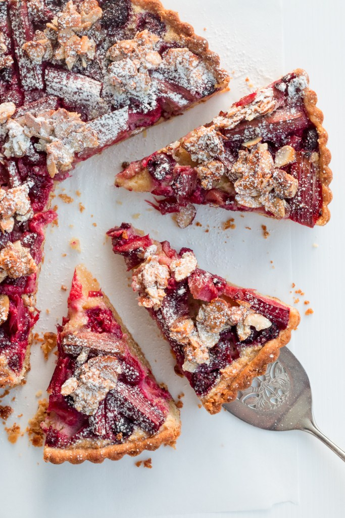 Pear And Raspberry Almond Cake Recipe