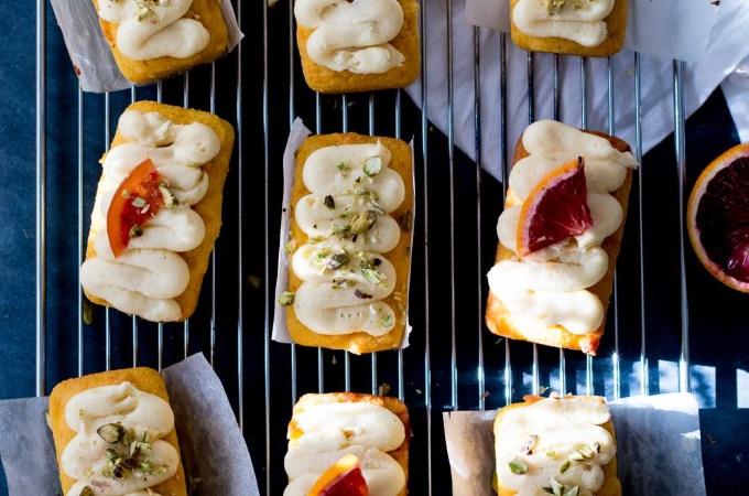 Flourless Whole Orange & Almond Loaf Cakes | The Brick Kitchen