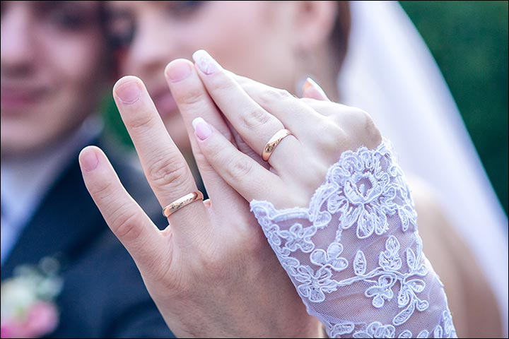 How To Wear Your Wedding Ring Perfectly