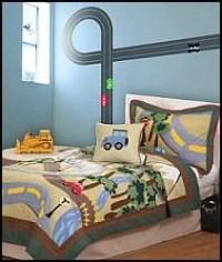 DIY Train Bedroom for Kids  The Budget Decorator
