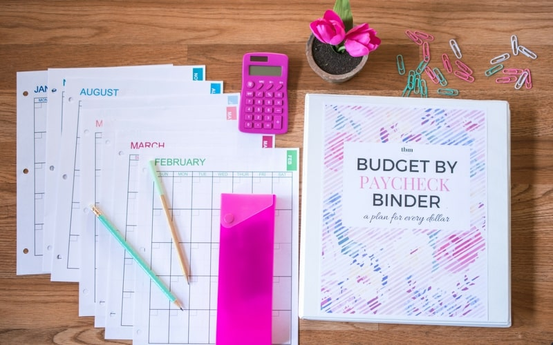 Our 2017 Budget Binder (A Plan for Every Dollar) The Budget Mom