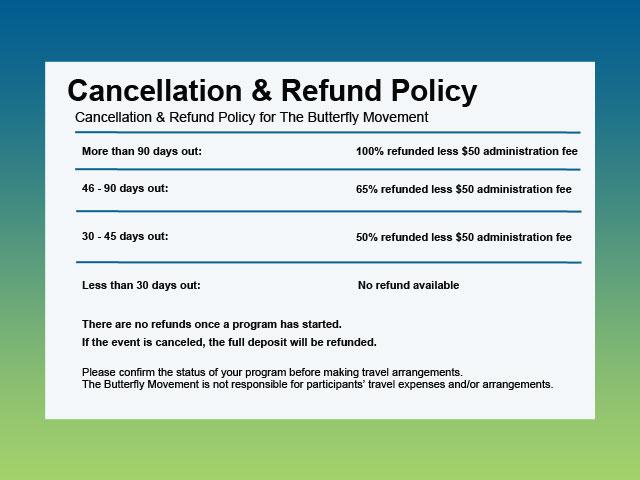 Cancellation  Refund Policies
