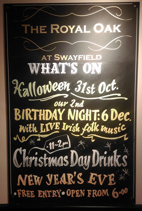 The Royal Oak upcoming events