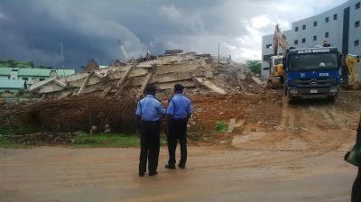 6 rescued, 2 trapped in Abuja building collapse | TheCable