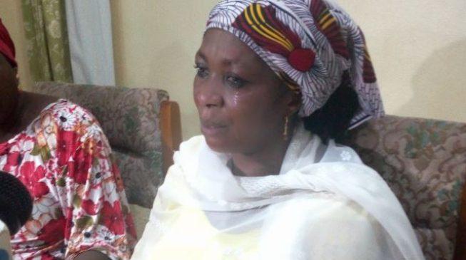 Boko Haram Threat Leah Sharibus Mother Weeps Begs Fg To