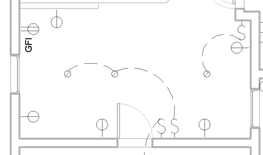 electrical plan symbols revit