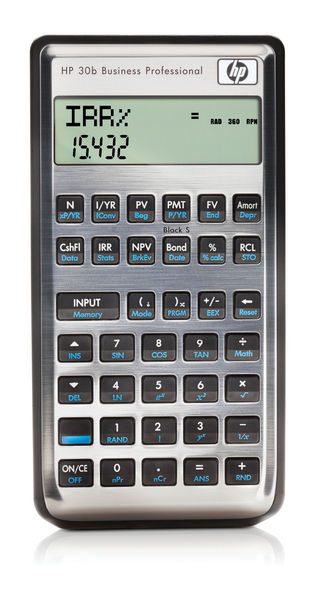 Hp 30b Financial Calculator - TheCalculatorStore