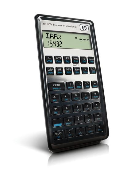Hp 30b Financial Calculator - TheCalculatorStore - financial calculator