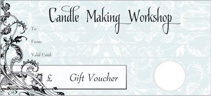 Candle Making Gift Vouchers - The Candle Alchemist
