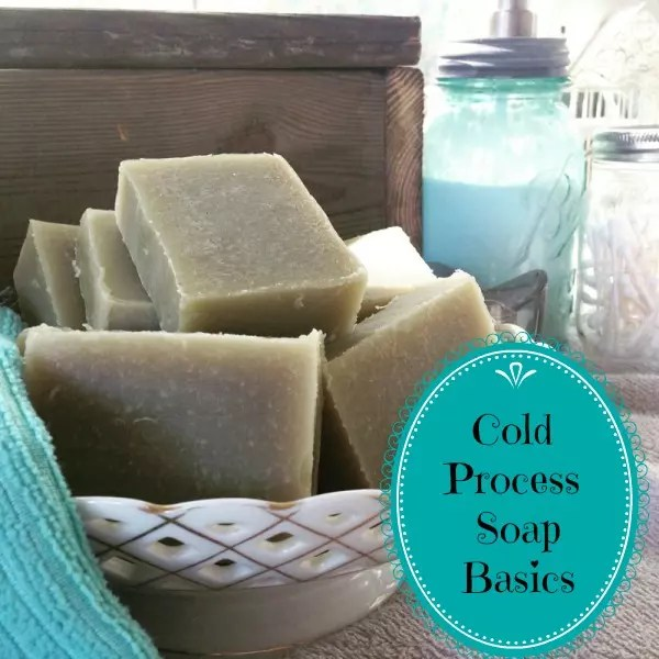 Make your own cold process soap!