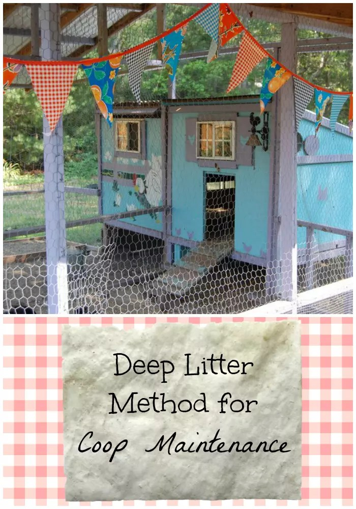 Deep Litter Method for Coop Maintenance