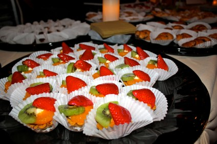"""Fruit tarts from 3:16 Bakery, which came away with the """"Best Dessert"""" award during the 2014 Taste of San Juan. Photo by Brian Park"""