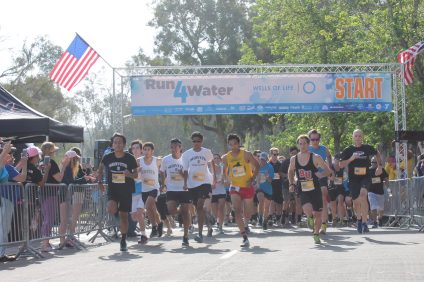The start of the Run4Water 5K. Photo: Courtesy of Wells of Life