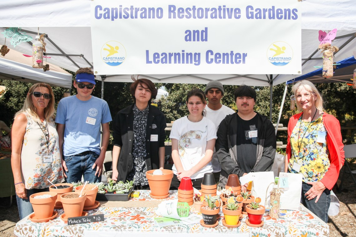 The Capistrano Restorative Gardens and Learning Center had representatives at Fall Fest raising money for the garden's expansion. Photo: Allison Jarrell