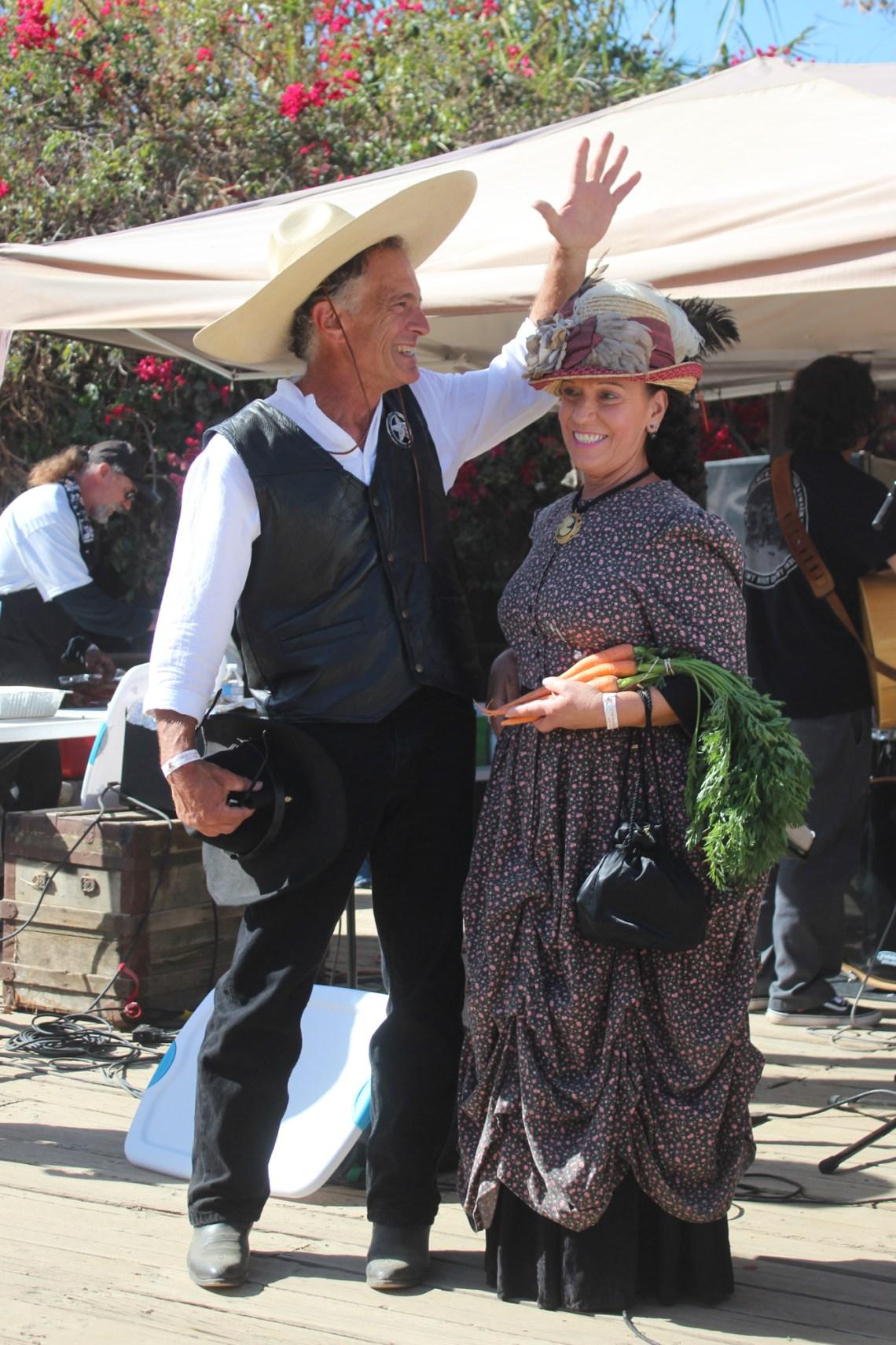 Nina Leone and Jimmy Ferguson were chosen as this year's Fiesta Association dignitaries—Ms. Fiesta and Señor San Juan. Photo: Rachael Garcia