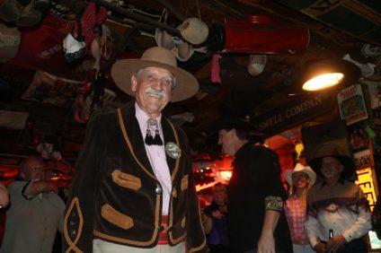 Norm Moldenhauer won best dressed western man.