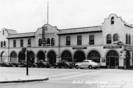 Pictured is the Hotel Capistrano on Camino Capistrano. It was built in 1920 and demolished in the 1960s. Photo: Courtesy of Orange County Archives