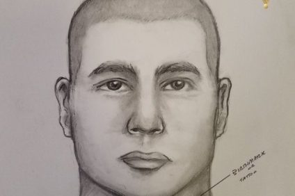 Authorities are looking for a man they say robbed a woman of her wallet at gunpoint in the Mission Viejo area. Courtesy of Orange County Sheriff's Department.