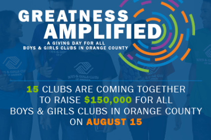 The Boys and Girls Club of Capistrano Valley is one of 15 Orange County clubs seeking to raise funds  to help children in need. Photo Courtesy of the Boys and Girls Club of Capistrano Valley.