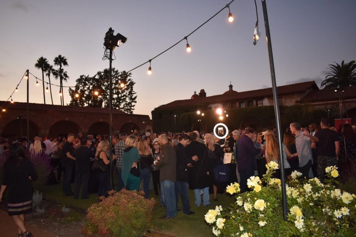 Visitors pack Mission San Juan Capistrano for the The Vintage Food & Wine Festival on Saturday, Oct. 6. Photo: Alex Groves