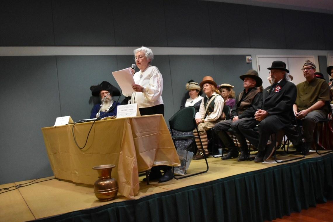Bouchard is on trial at the San Juan Capistrano Community Center on Nov. 4.