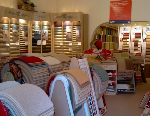 Welcome To The Carpet Shop O Westbury Park