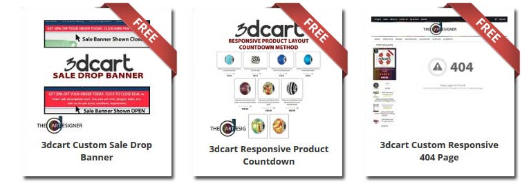 3dcart Sign Up Specials New 3dcart Store Freebies Free 3dcart