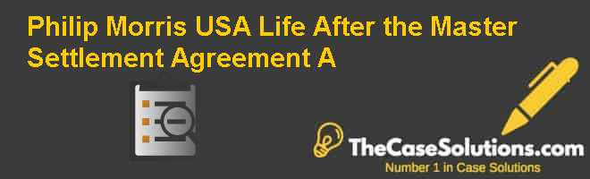 Master Settlement Agreement Downlaodable Master Settlement - Master Settlement Agreement