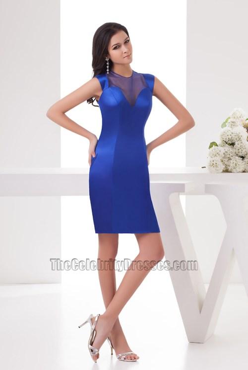 Medium Of Royal Blue Cocktail Dress