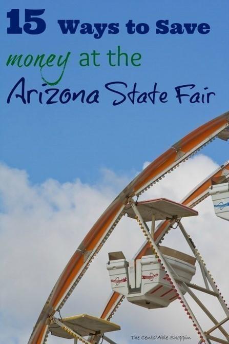 15 ways to save at the arizona state fair