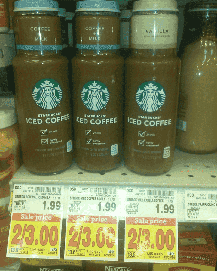 ... Starbucks Coupon | Iced Coffee $.50 at Fry's | The CentsAble Shoppin
