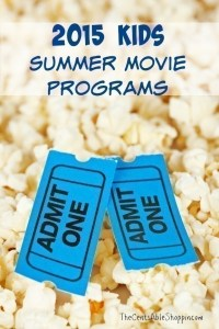 2015 Kids Summer Movie Programs - TheCentsAbleShoppin.com