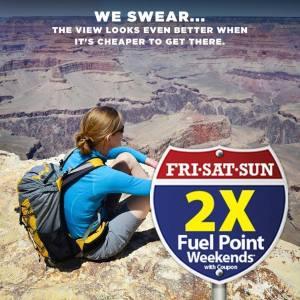 2X Fuel Points