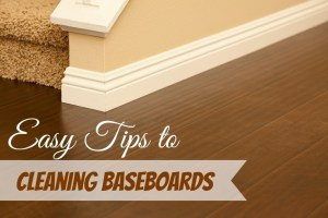 Easy Tips for Cleaning Baseboards ~ TheCentsAbleShoppin.com