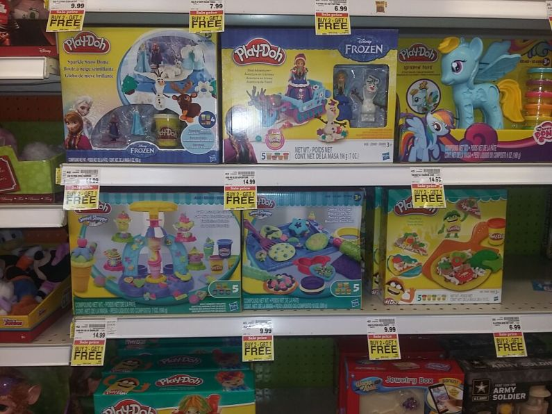 fry s play doh or play doh sets as low as 1 99 no