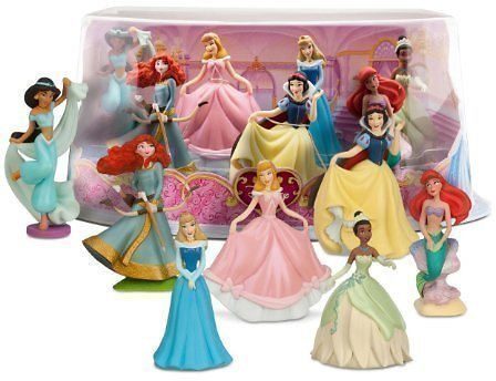 Disney Princess 7 ct Mini-Figure Play Set
