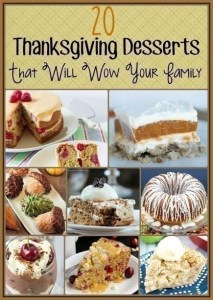 Thanksgiving Desserts to WOW your Family!