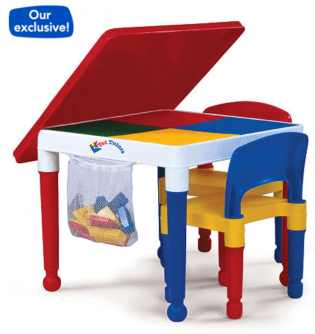Toys r us tot tutors 2 in 1 construction table and chair for 10 in 1 game table toys r us