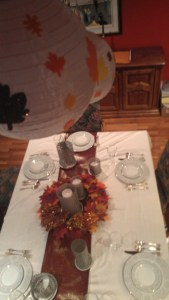 Decorating Your Thanksgivinmg Table