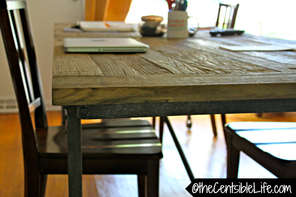 Desk closeup