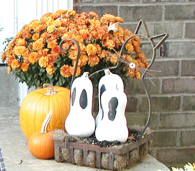 Butternut Squash Ghosts