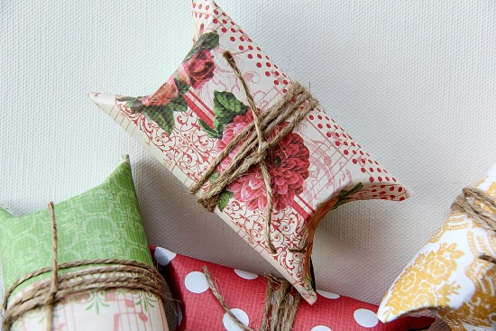 DIY Pillow Box gift boxes