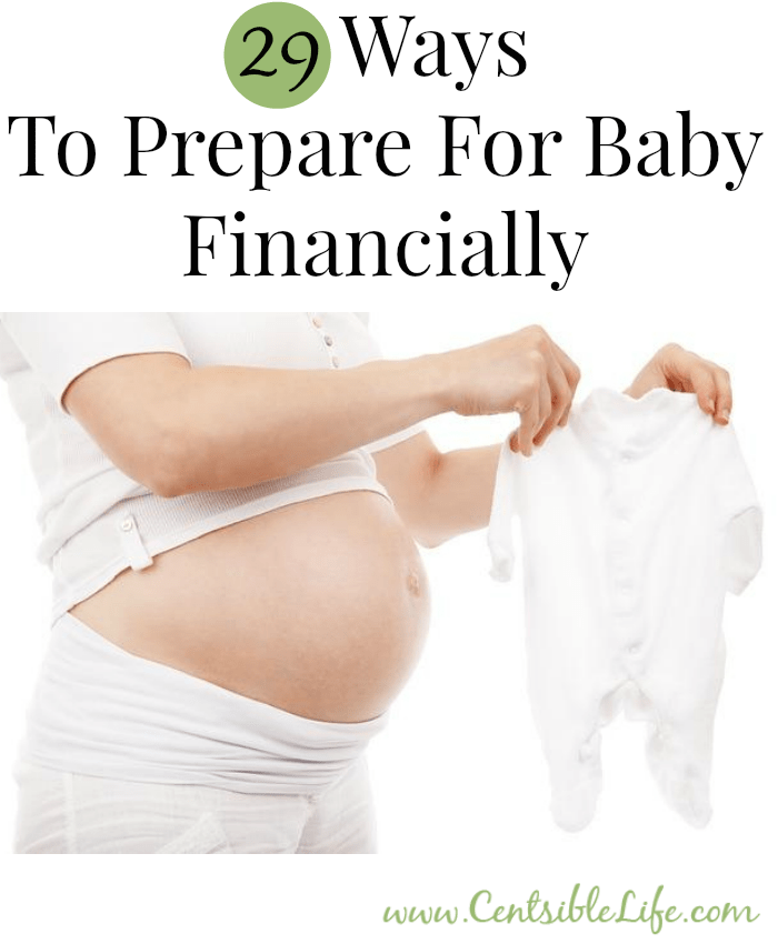 29 Ways To Prepare For Baby Financially