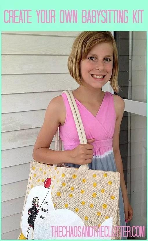 Babysitting Ideas To Create Your Own Babysitting Kit
