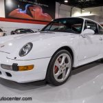 Porsche 993 Turbo with a rare sunroof delete option