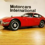 First 7-figure Japanese car – Toyota 2000GT