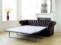 Leather Chesterfield Sofa Bed | Richmond
