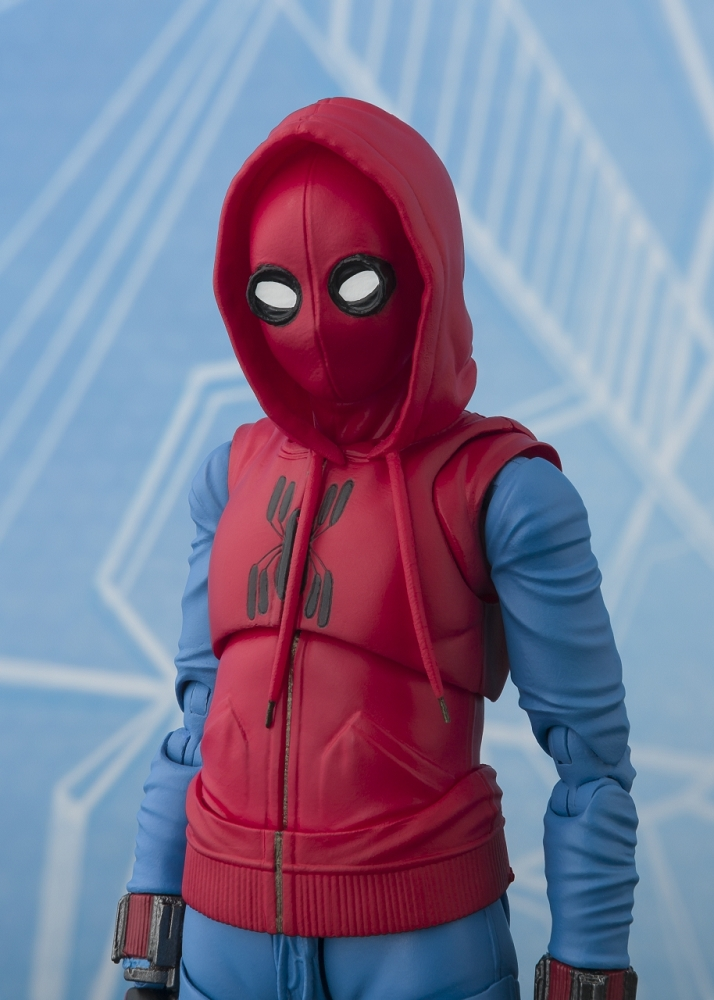 Spiderman Ps4 Wallpaper Hd S H Figuarts Spider Man Homecoming Home Made Suit Ver